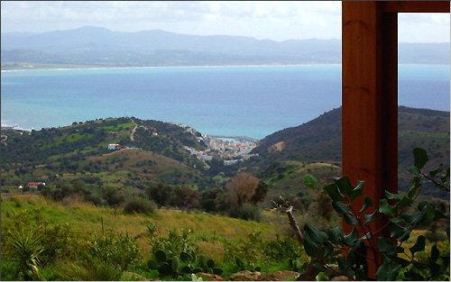 View of Aghia Galini