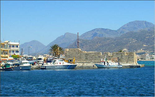 Ierapetra: Port and fortress