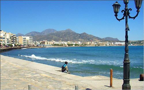 Ierapetra: Shore promenade
